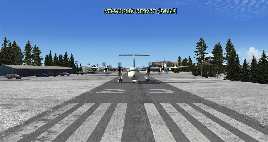 PACIFIC ISLANDS SIMULATION - VFR APPALACHIA P3D V4