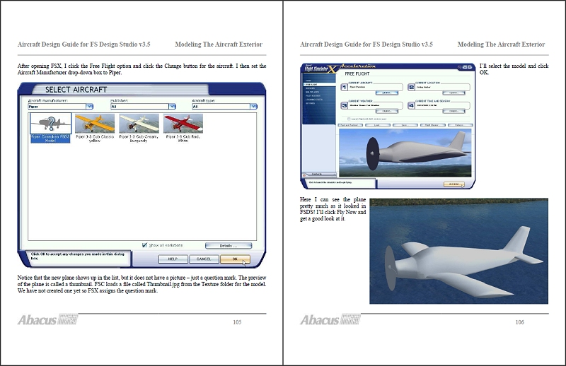 ABACUS - AIRCRAFT DESIGN GUIDE BOOK 2 - MODELLING THE AIRCRAFT EXTERIOR PDF