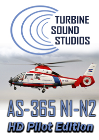 TURBINE SOUND STUDIOS - AS-365N1-2 HD PILOT EDITION SOUNDPACK FOR FS2004