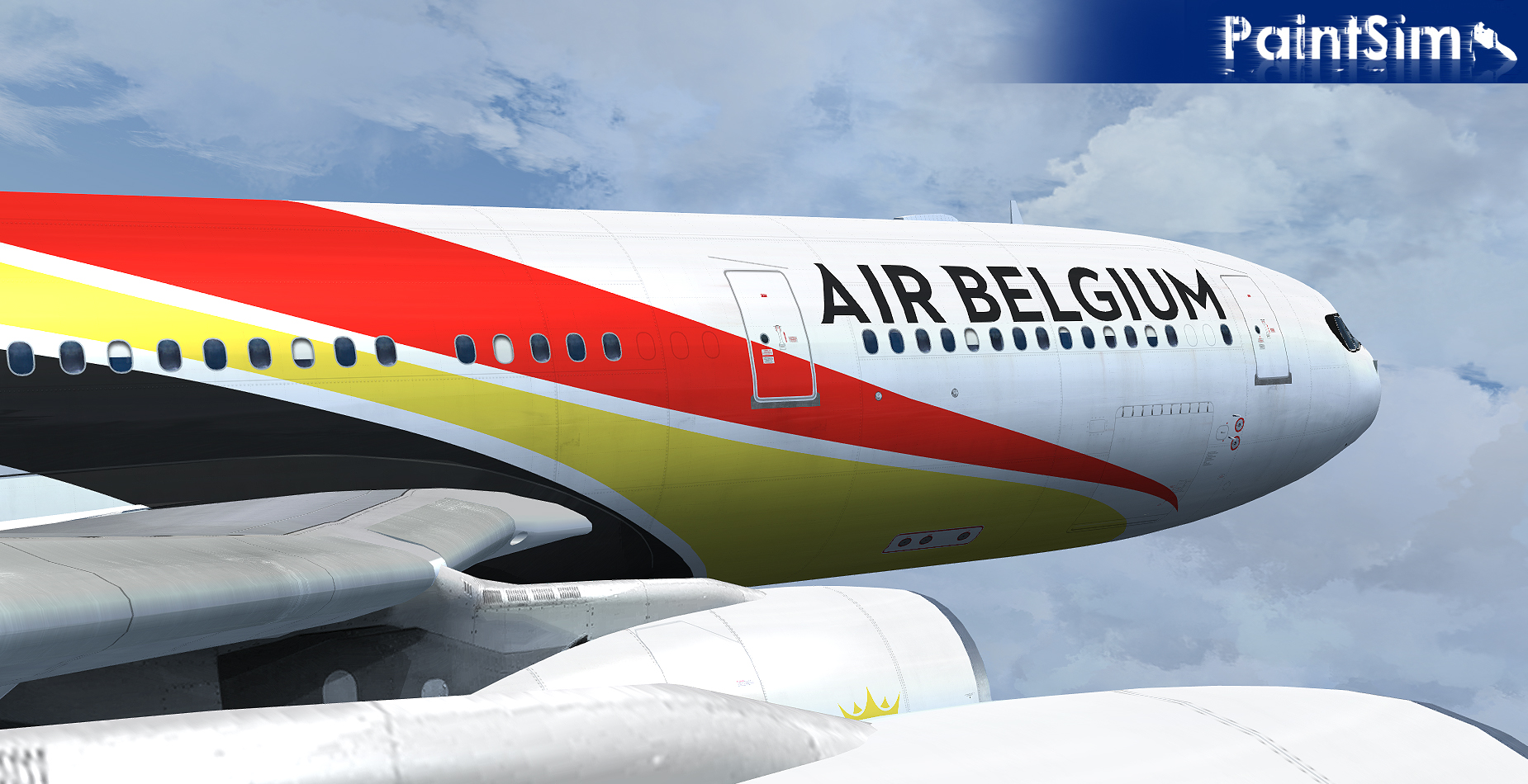 PAINTSIM - UHD TEXTURE PACK 8 FOR WILCO AIRBUS A330/340 FSX