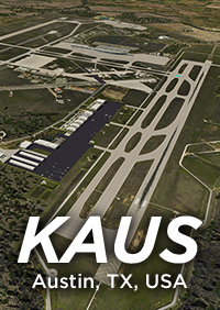 AIRPORTECH - KAUS - AUSTIN, TX INTERNATIONAL - X-PLANE