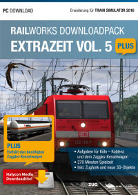 RAILWORKS DOWNLOADPACK - EXTRAZEIT VOL. 5 PLUS - ERWEITERUNG FÜR TRAIN SIMULATOR 2016