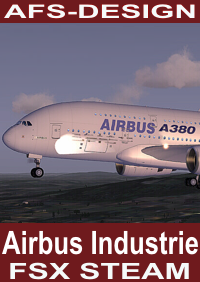 AFS-DESIGN - AIRBUS INDUSTRIE HOUSE 全系模型+原厂涂装 V2 FSX-STEAM