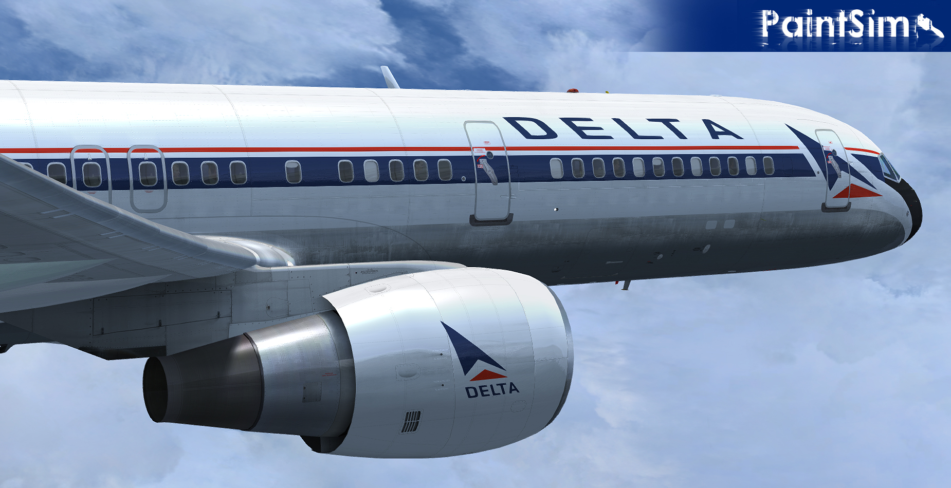 PAINTSIM - UHD TEXTURE PACK 14 FOR CAPTAIN SIM BOEING 757-200 III FSX P3D