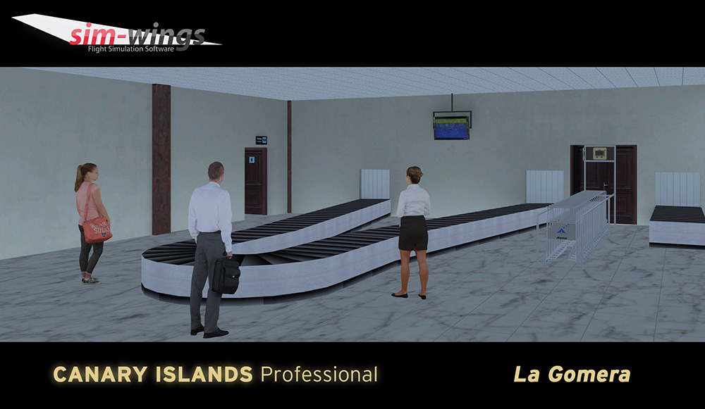 AEROSOFT - CANARY ISLANDS PROFESSIONAL - LA GOMERA P3D4
