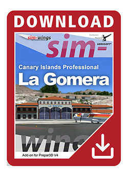 AEROSOFT - CANARY ISLANDS PROFESSIONAL - LA GOMERA P3D