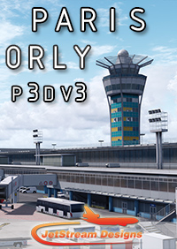 JETSTREAM DESIGNS - PARIS ORLY LFPO P3DV3