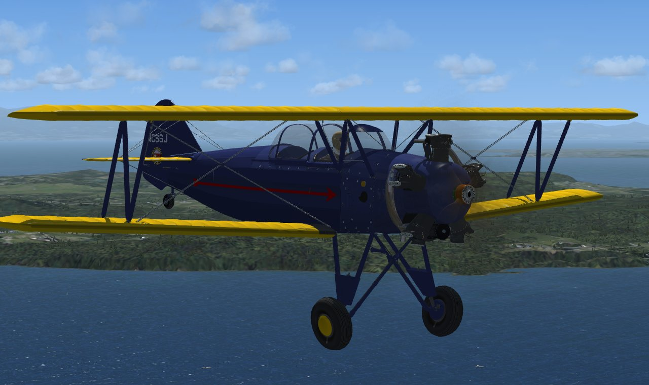 GOLDEN AGE SIMULATIONS - FLEET 16B FINCH II FSX P3D