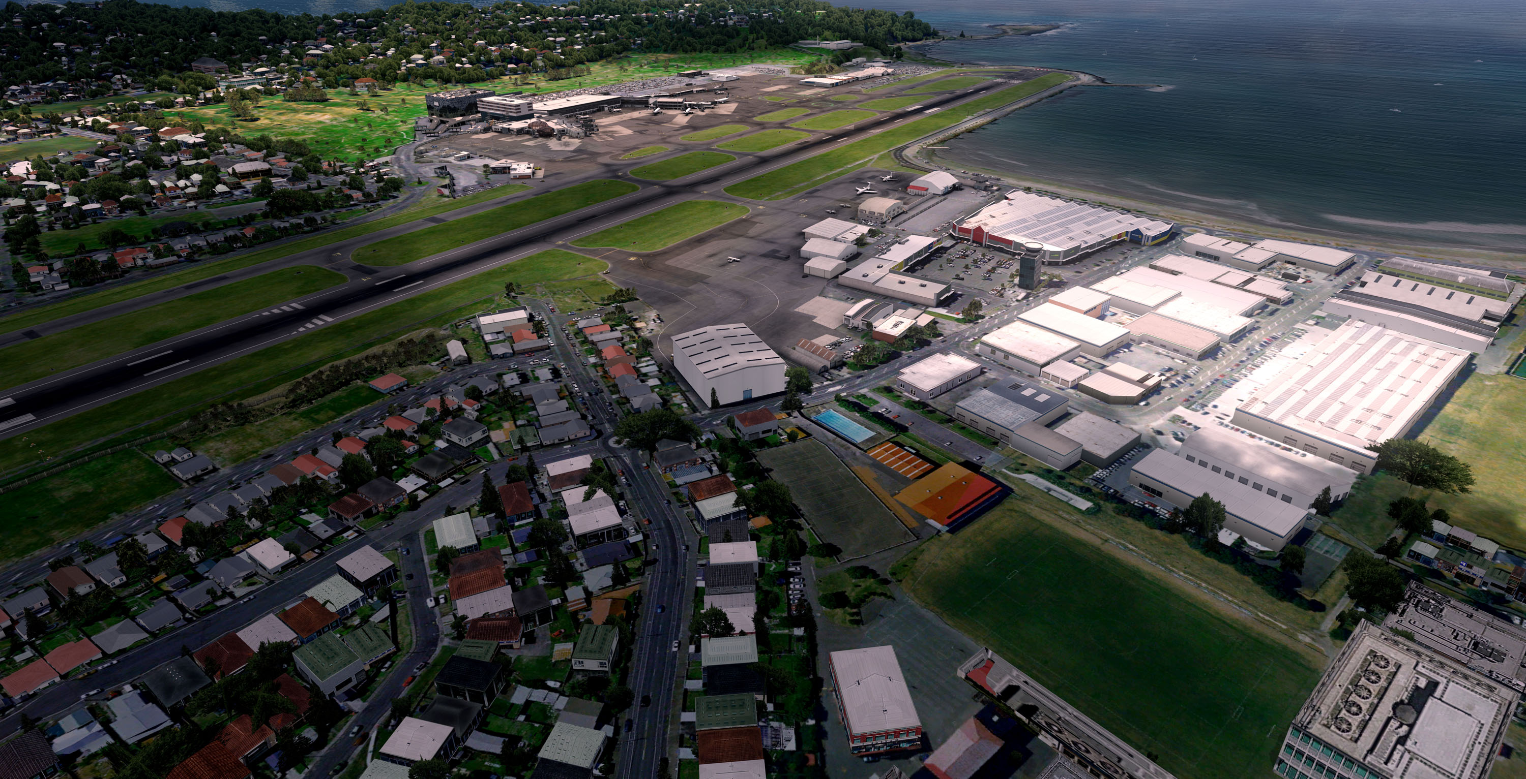 FLIGHTBEAM STUDIOS - NZWN - WELLINGTON INTERNATIONAL P3D