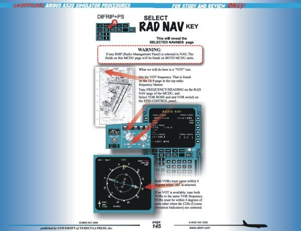 UTEM - UNOFFICIAL A320 SIM & CHECKRIDE PROCEDURES MANUAL - PDF