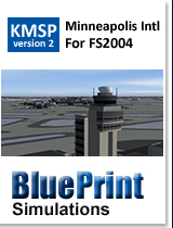 BLUEPRINT - KMSP MINNEAPOLIS - ST PAUL INTL V2 FS2004