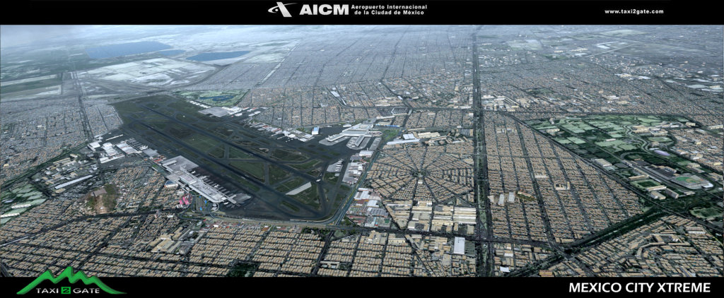 TAXI2GATE - MMMX MEXICO CITY XTREME FSX