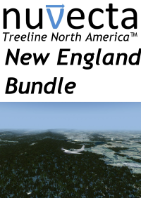 NUVECTA - TREELINE NORTH AMERICA™ NEW ENGLAND BUNDLE FSX P3D