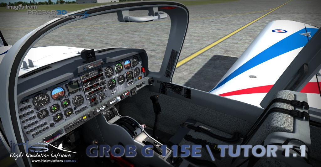 IRIS PRO TRAINING SERIES - GROB G115E / TUTOR T.1 P3D (DOWNLOAD)