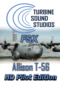 TURBINE SOUND STUDIOS - C-130 HERCULES ALLISON T-56PILOT EDITION HD SOUNDPACK FOR FSX P3D