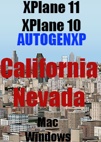 TABURET -  AUTOGENXP CALIFORNIA AND NEVADA X-PLANE 10/11