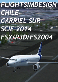 FLIGHTSIMDESIGN CHILE - CARRIEL SUR SCIE 2014 FSX P3D/FS2004