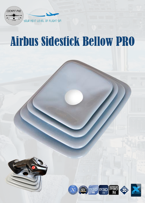 COCKPIT PHD - AIRBUS SIDESTICK RUBBER BELLOW PRO