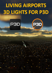LIVING AIRPORTS - 3D LIGHTS P3D