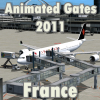 FLYSIMWARE LLC - ANIMATED GATES 2011 FRANCE/ITALY/BRAZIL/SPAIN/P