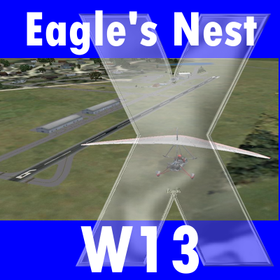 EAGLE'S NEST AIRPORT (W13) FSX