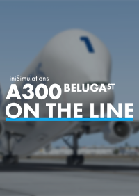 INIBUILDS - INISIMULATIONS A300 BELUGAST ON THE LINE X-PLANE 11