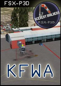 FSXCENERY - KFWA FORT WAYNE INTERNATIONAL FSX P3D