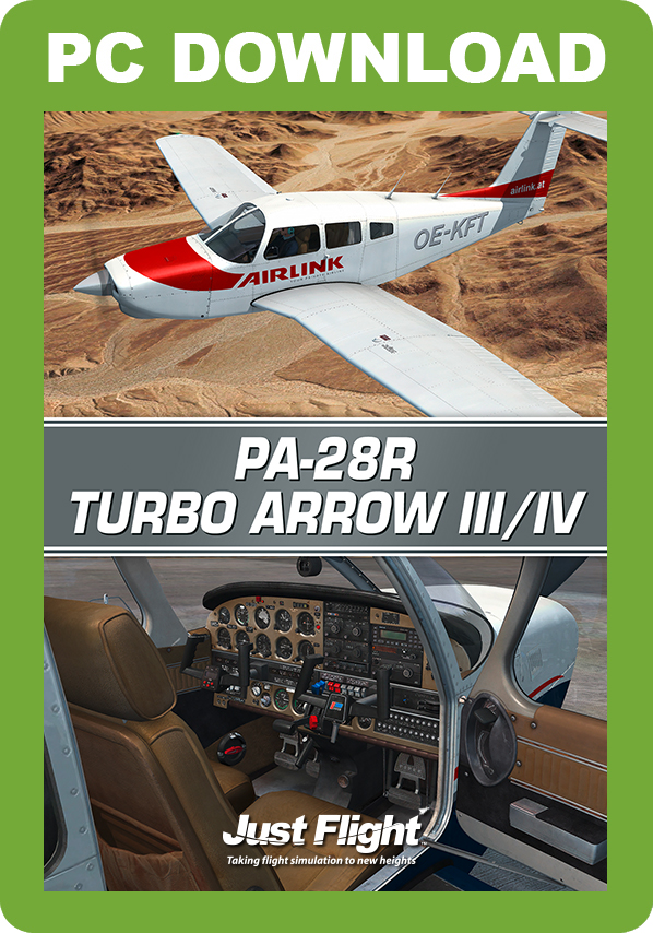 JUSTFLIGHT - PA-28R TURBO ARROW III - IV FSX P3D