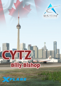 SKYLINE SIMULATIONS - CYTZ – BILLY BISHOP PORTER AIRPORT X-PLANE 11