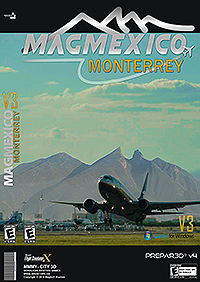 MAGMEXICO - MONTERREY AIRPORT INTERNATIONAL FSX P3D