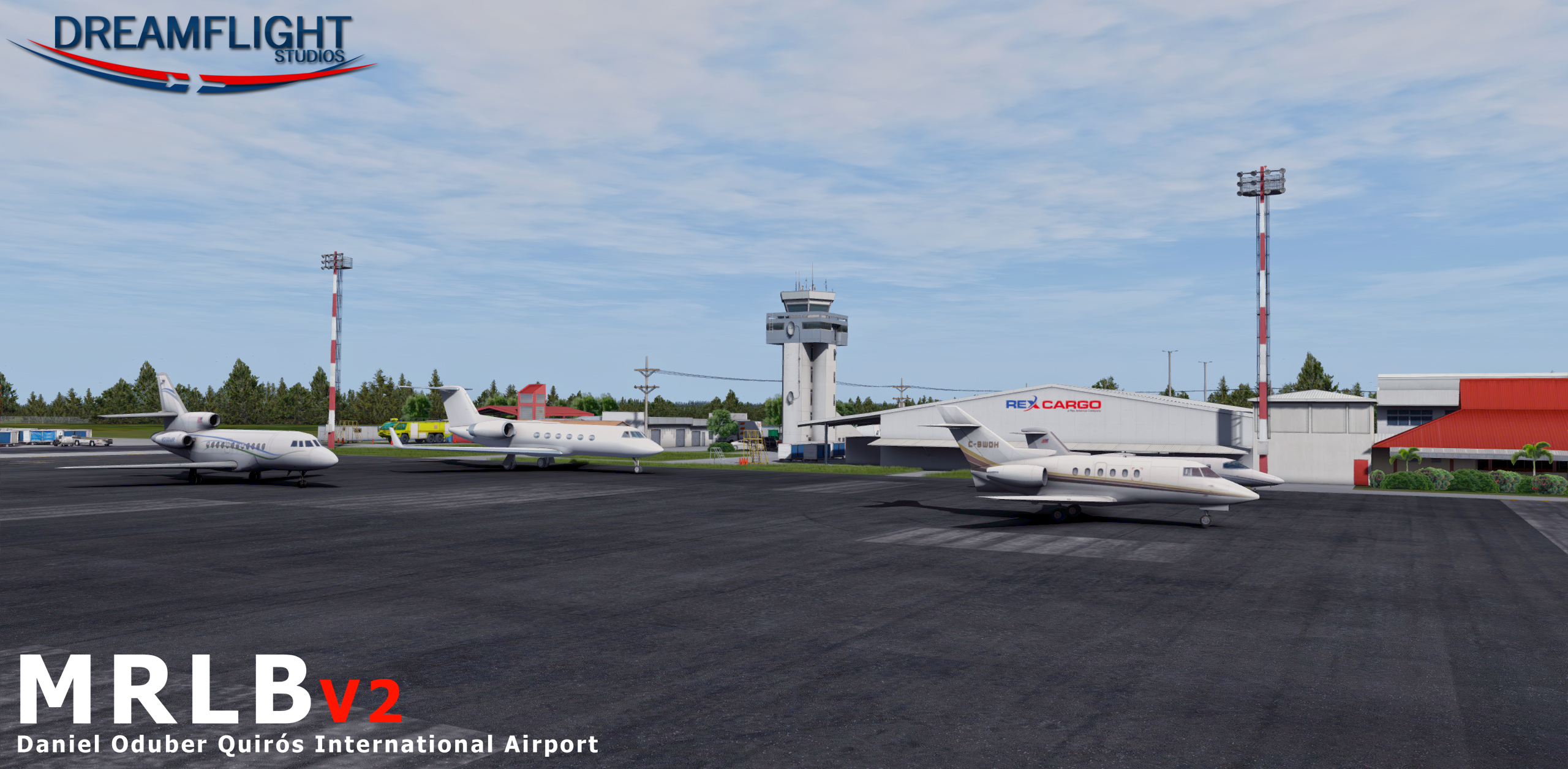DREAMFLIGHT STUDIOS - MRLB V2.0 - LIBERIA INTERNATIONAL AIRPORT P3D
