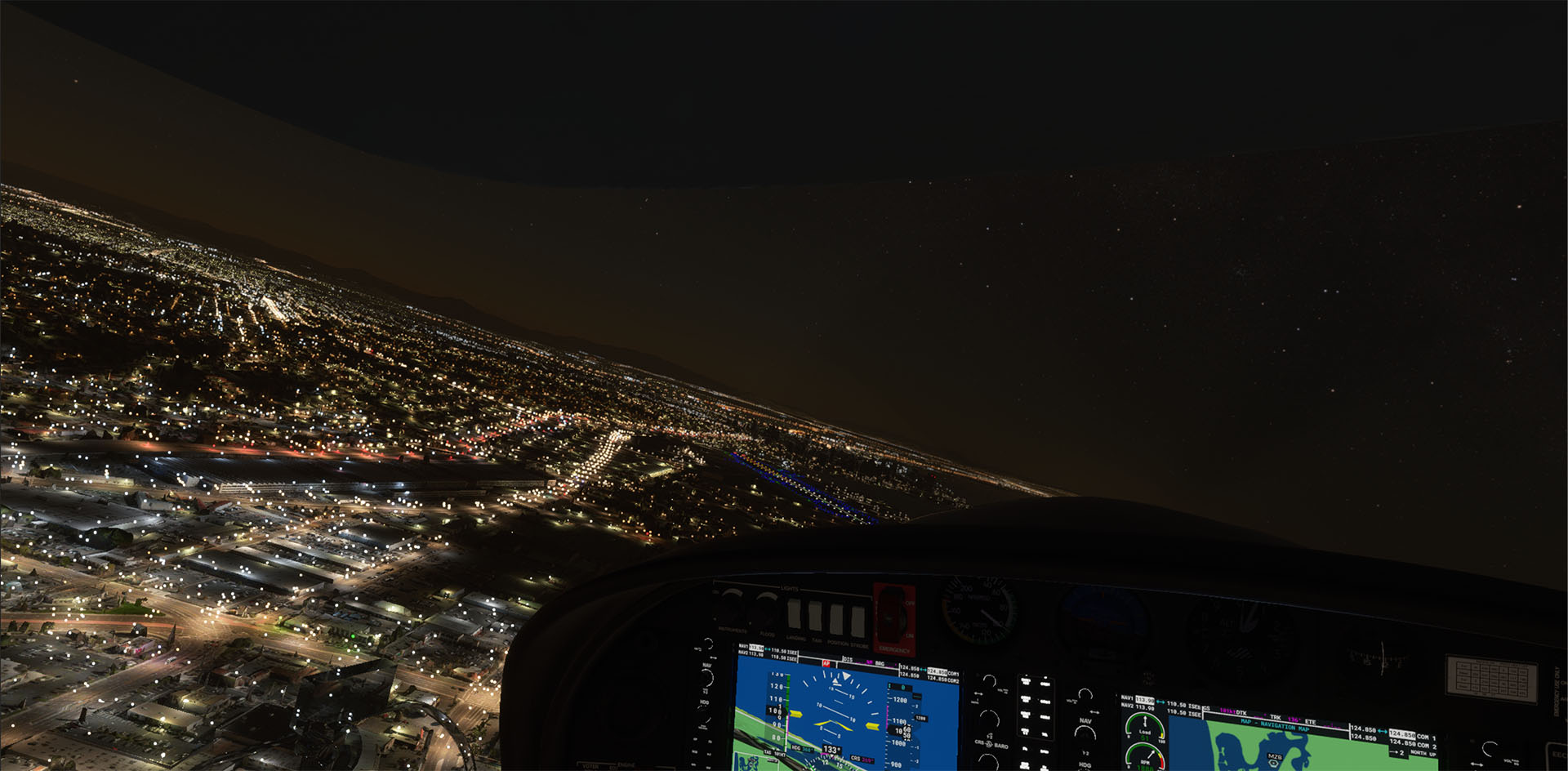 TABURET - NIGHT 3D CALIFORNIA - V2 MSFS