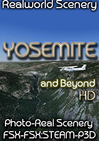 REALWORLD SCENERY - YOSEMITE AND BEYOND - FSX FSXSE P3D