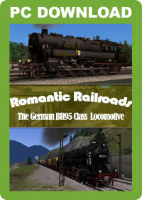 JUSTTRAINS - ROMANTIC RAILROADS GERMAN BR95 CLASS