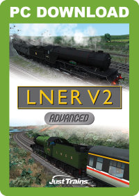 JUSTTRAINS - LNER V2 ADVANCED