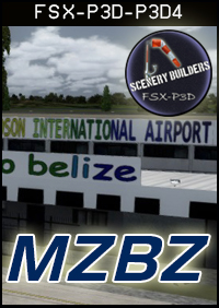 FSXCENERY - MZBZ PHILIP S W GOLDSON INTERNATIONAL AIRPORT FSX P3D