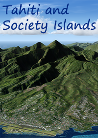 FLIGHTSCENE - TAHITI AND SOCIETY ISLANDS  FSX P3D