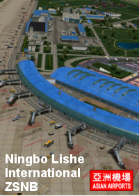 ASIAN AIRPORTS - NINGBO LISHE INTERNATIONAL ZSNB FSX P3D