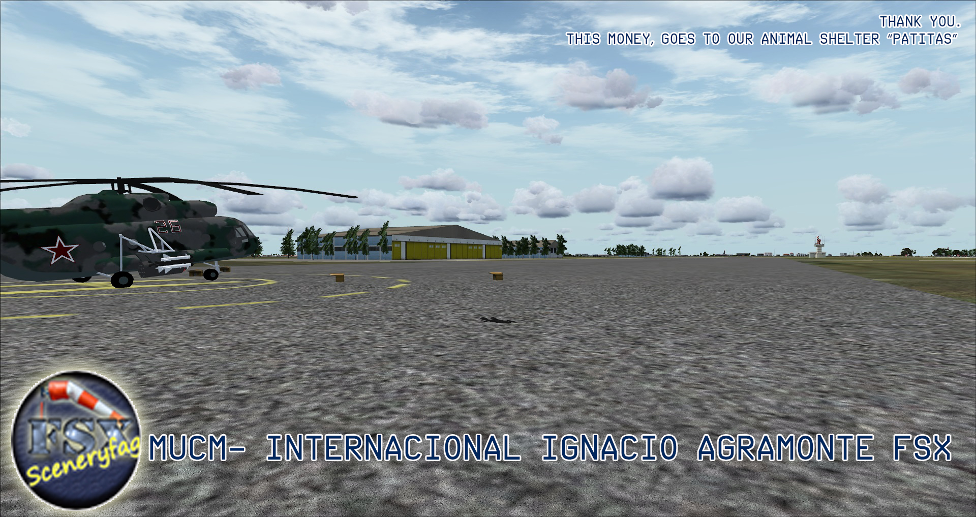 FSXCENERY - IGNACIO AGRAMONTE INTERNATIONAL AIRPORT MUCM  FSX