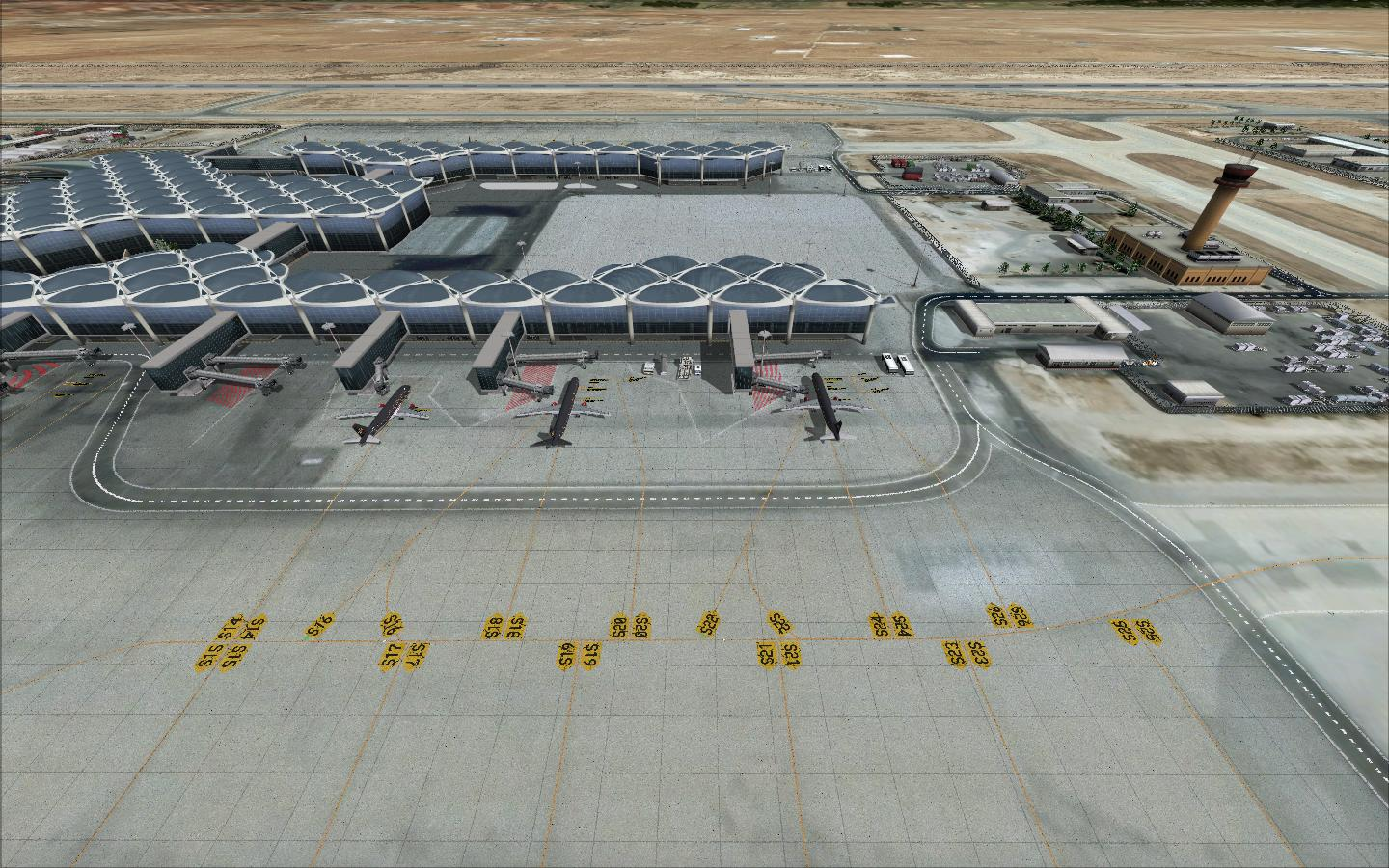 ARMI PROJECT - QUEEN ALIA INTERNATIONAL AIRPORT OJAI FS2004