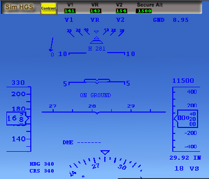 PERFECT FLIGHT - SIM HGS