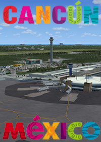 KINGS SCENERIES - CANCUN MEXICO MEGA SCENERY FSX