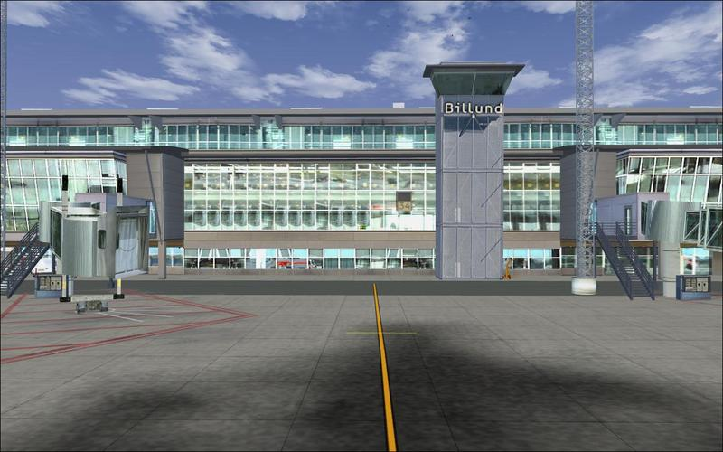 AERO FILES - BILLUND AIRPORT FSX