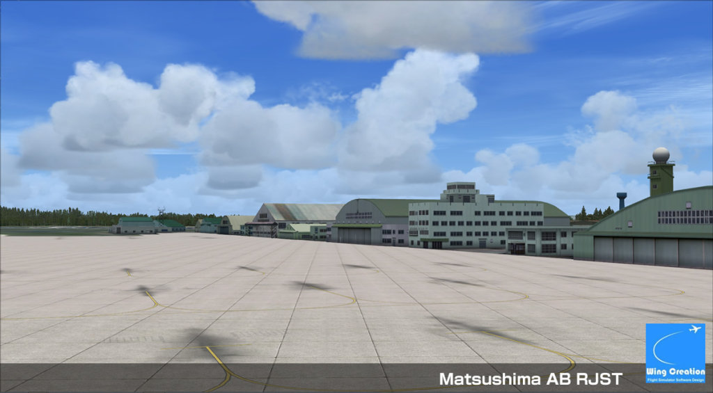 WING CREATION INC - SENDAI RJSS FSX P3D