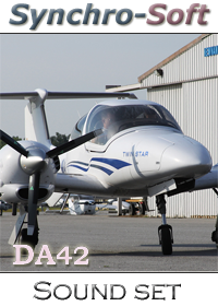 SYNCHRO-SOFT - DIAMOND DA42  SOUNDSET FSX