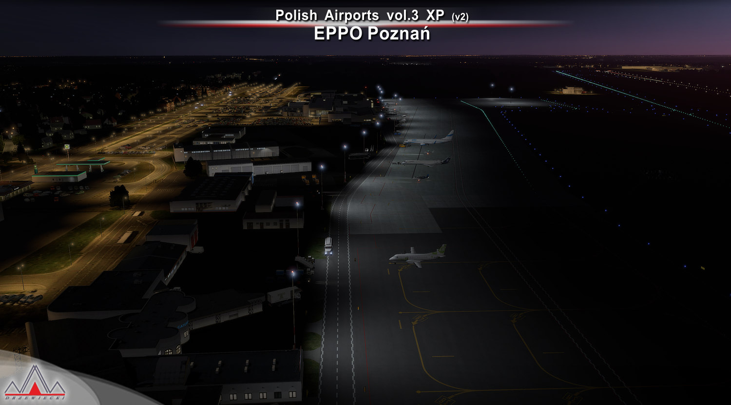 DRZEWIECKI DESIGN - POLISH AIRPORTS VOL3 XP (V2) X-PLANE 11