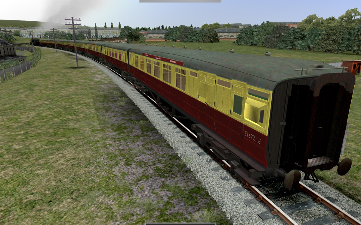 JUSTTRAINS - A4 PACIFIC CLASS BRITISH RAILWAYS ADDON PACK