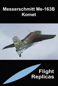 FLIGHT REPLICAS - MESSERSCHMITT ME-163B KOMET FSX P3D