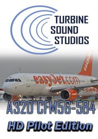 TURBINE SOUND STUDIOS - AIRBUS A320 HD CFM56-5B4 PILOT EDITION SOUNDPACK FS2004