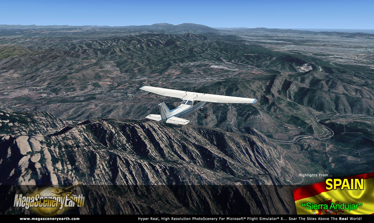 MEGASCENERYEARTH - SPAIN NORTH V2 FSX P3D